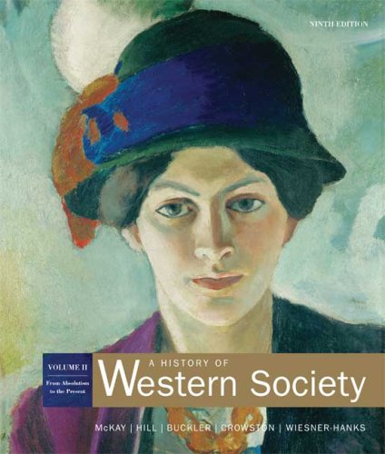 History of Western Society From Absolutism to Present 9th 2007 9780312683122 Front Cover