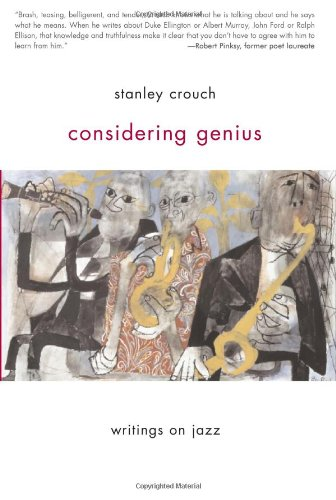 Considering Genius Writings on Jazz  2007 edition cover