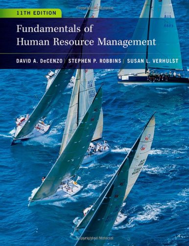 Fundamentals of Human Resource Management  11th 2013 edition cover
