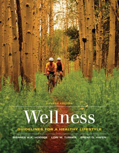 Wellness Guidelines for a Healthy Lifestyle 4th 2007 edition cover