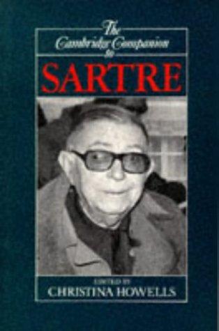 Cambridge Companion to Sartre   1992 edition cover