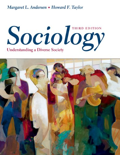 Sociology Understanding a Diverse Society 3rd 2004 9780534609122 Front Cover