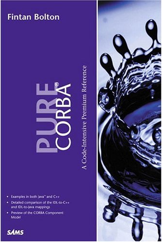 Corba A Code-Intensive Premium Reference  2002 9780672318122 Front Cover