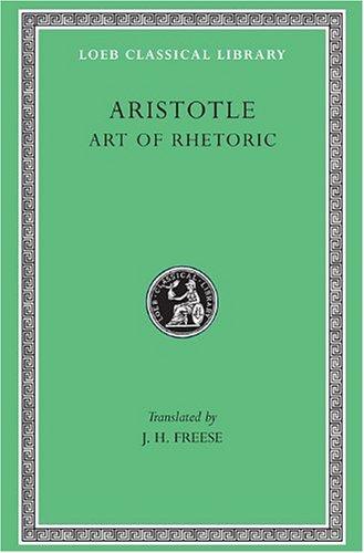 Art of Rhetoric   1926 9780674992122 Front Cover