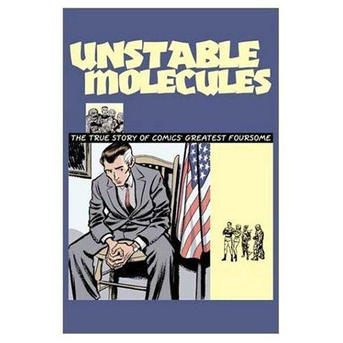 Fantastic Four Unstable Molecules N/A edition cover