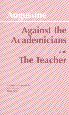 Against the Academicians and the Teacher  N/A edition cover