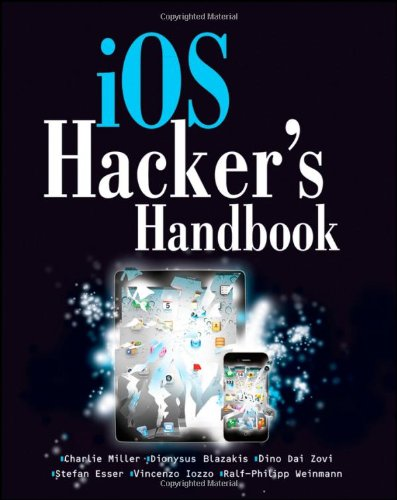 IOS Hacker's Handbook   2012 edition cover