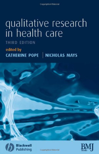 Qualitative Research in Health Care  3rd 2006 (Revised) edition cover