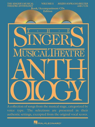 Singer's Musical Theatre Anthology  N/A edition cover