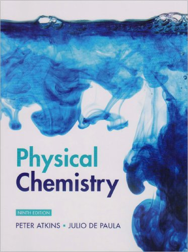 Physical Chemistry  9th 2010 edition cover