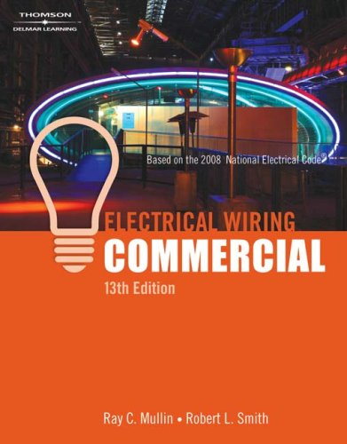 Electrical Wiring Commercial  13th 2008 edition cover
