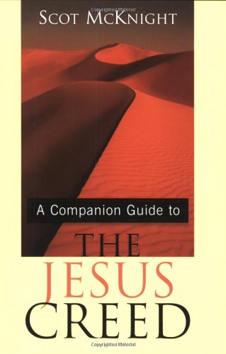 Companion Guide to the Jesus Creed  N/A 9781557254122 Front Cover