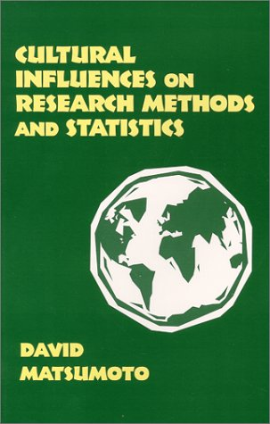 Cultural Influences on Research Methods and Statistics  N/A edition cover