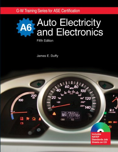 Auto Electricity and Electronics  5th 2010 edition cover