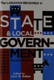 Lanahan Readings in State and Local Government 2nd 2010 edition cover