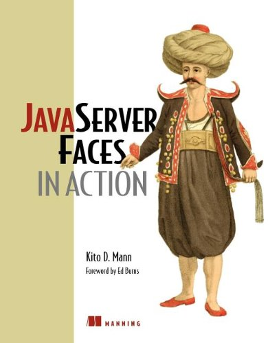 JavaServer Faces in Action   2004 9781932394122 Front Cover