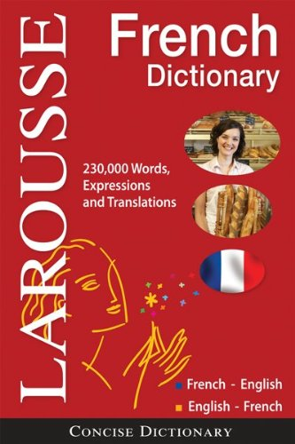 Larousse Concise French-English-English-Frenct Dictionary  N/A edition cover