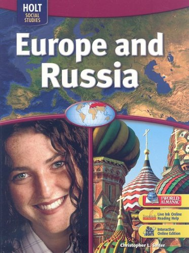 Europe and Russia   2005 9780030436123 Front Cover