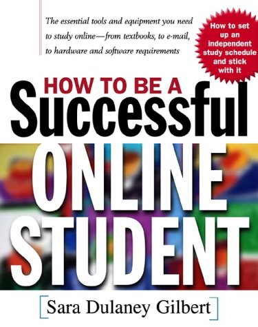 How to Be a Successful Online Student   2001 edition cover