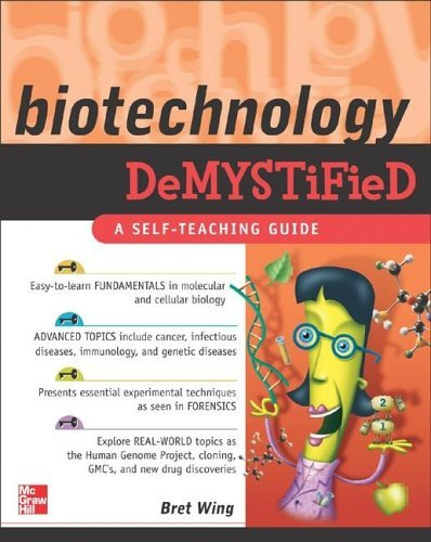 Biotechnology A Self-Teaching Guide  2007 edition cover