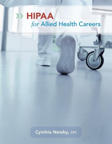 HIPAA for Allied Health Careers   2009 edition cover
