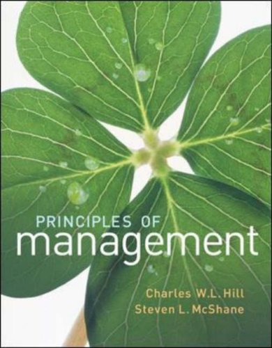 Principles of Management   2008 edition cover