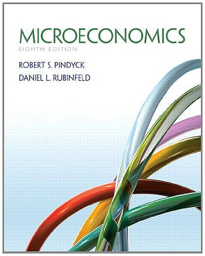 Microeconomics  8th 2013 (Revised) 9780132857123 Front Cover
