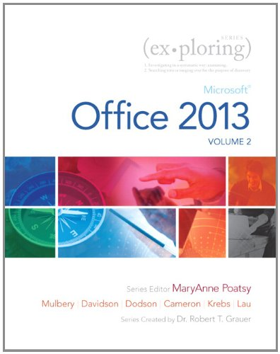 Exploring Microsoft Office 2013, Volume 2   2014 edition cover