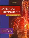 Medical Terminology A Living Language Plus NEW MyMedicalTerminologyLab -- Access Card Package 5th 2014 9780133496123 Front Cover