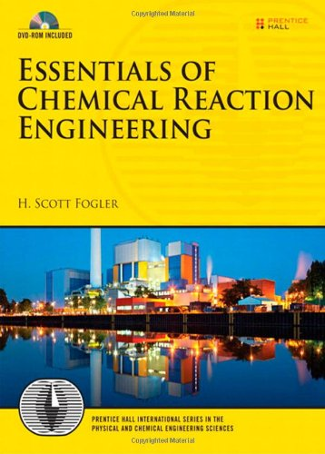 Essentials of Chemical Reaction Engineering   2011 edition cover
