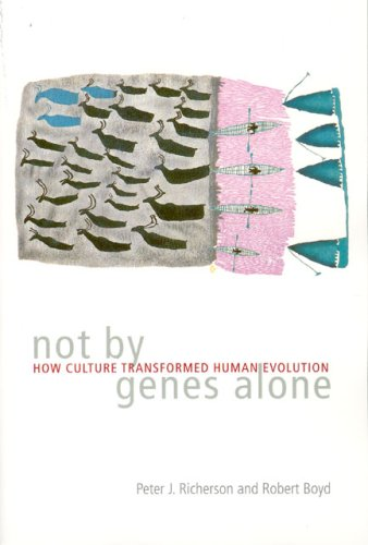 Not by Genes Alone How Culture Transformed Human Evolution  2006 edition cover
