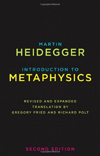 Introduction to Metaphysics Second Edition  2014 edition cover