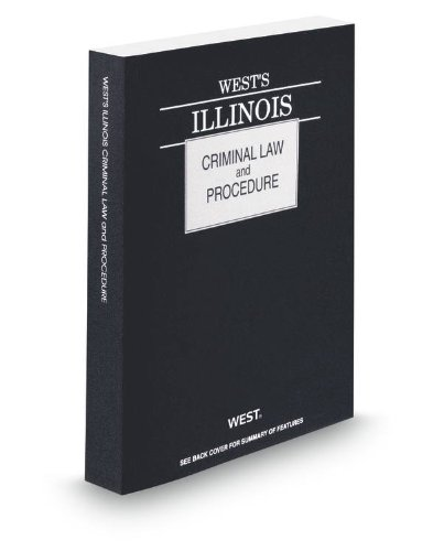 WEST'S ILLINOIS CRIMINAL LAW+P N/A 9780314653123 Front Cover