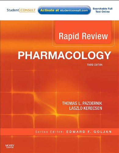 Pharmacology  3rd 2011 edition cover