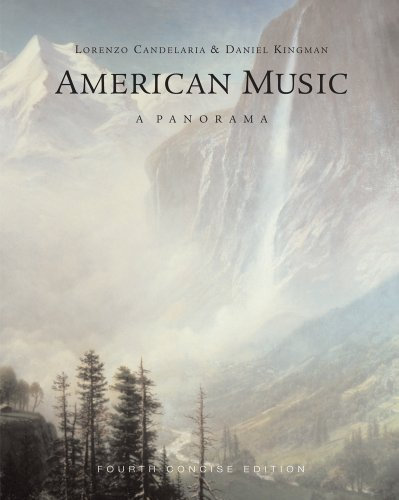 American Music A Panorama 4th 2012 edition cover