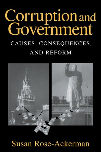 Corruption and Government Causes, Consequences, and Reform  1999 edition cover