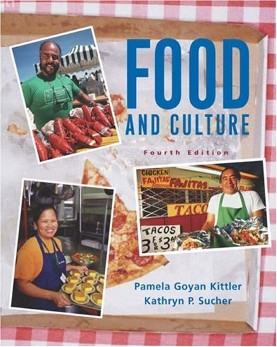 Food and Culture  4th 2004 (Revised) edition cover