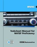 HVAC Tasksheet Manual for NATEF Proficiency   2011 (Revised) 9780763785123 Front Cover