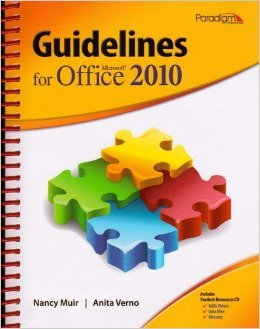 Guidelines for Microsoft Office 2010   2011 9780763842123 Front Cover