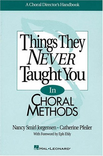 Thing Never Taught Choral MTD N/A 9780793542123 Front Cover