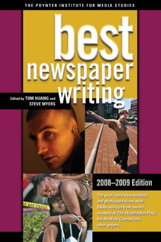Best Newspaper Writing 2008-2009  3rd 2007 (Revised) edition cover