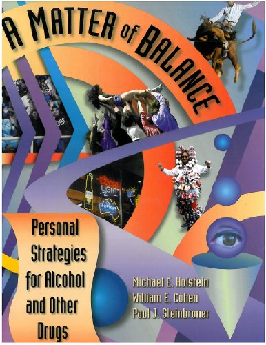 Matter of Balance : Personal Strategies for Alcohol and Other Drugs 1st edition cover