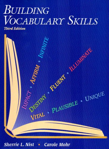 Building Vocabulary Skills  3rd 2002 edition cover