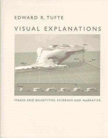 Visual Explanations : Images and Quantities, Evidence and Narrative  1997 edition cover