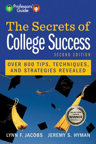Secrets of College Success  2nd 2013 edition cover
