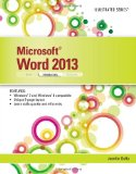 Microsoft� Word 2013 - Introductory   2014 edition cover