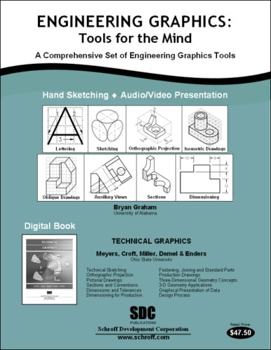 Engineering Graphics Tools for the Mind and DVD  2007 edition cover