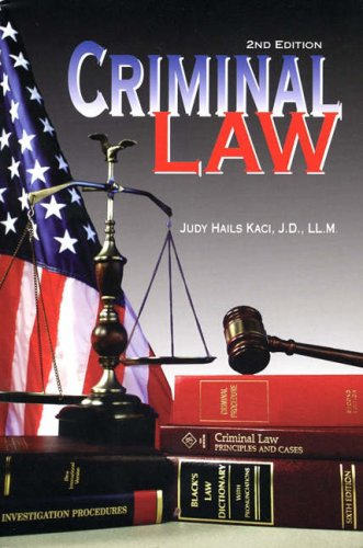 Criminal Law  2nd 2001 (Revised) edition cover