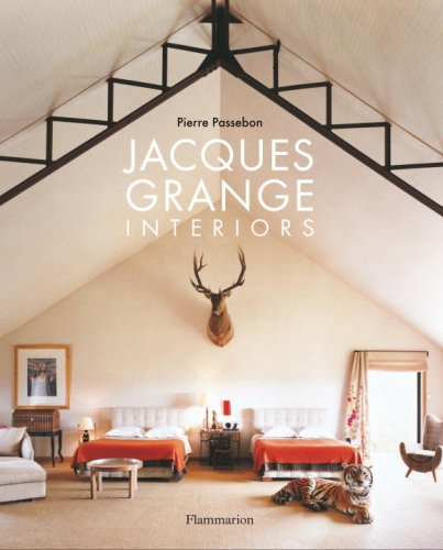 Jacques Grange - Interiors   2009 9782080301123 Front Cover