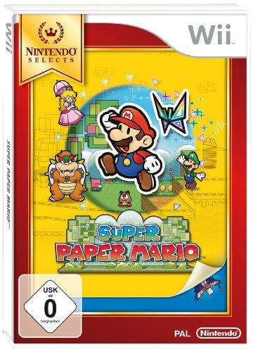 Nintendo Selects - Super Paper Mario. Nintendo Wii Nintendo Wii artwork
